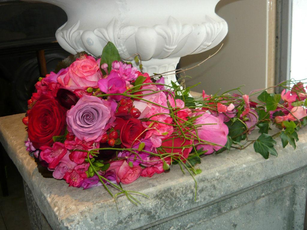 Beispiel: Hochzeitsfloristik, Foto: Art Fleur – Floristik aus Holland.