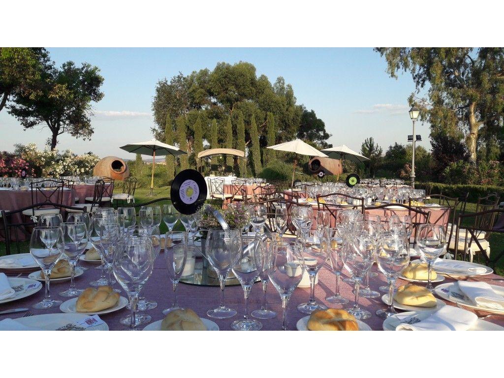 Cena Jardín Principal