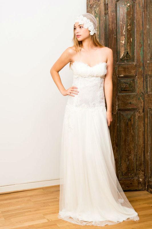 Beispiel: Einzigartige Brautmode, Foto: Gwanni.