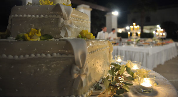 Torta nuziale - Masseria La Macina