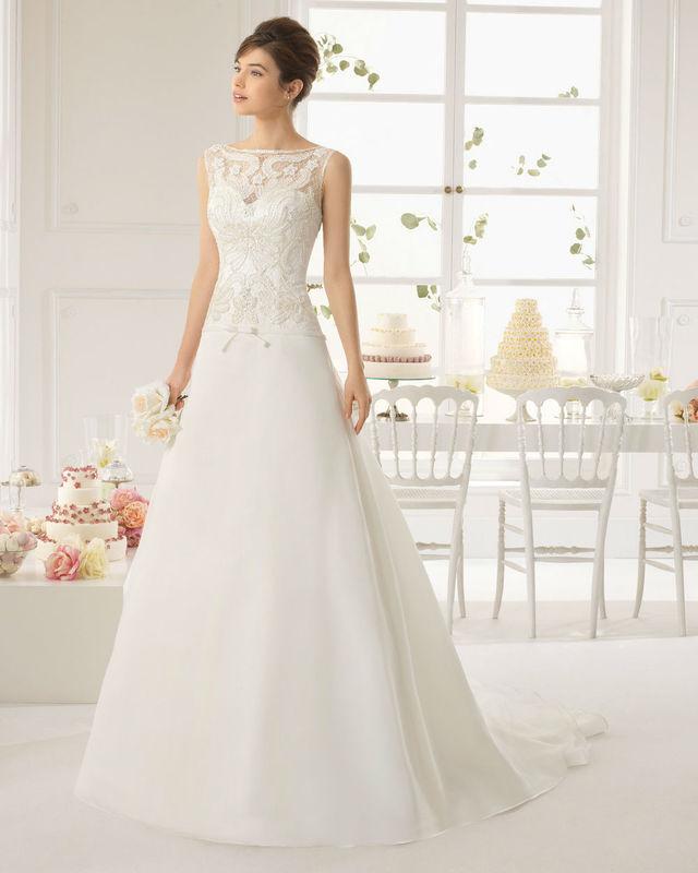 Robe de mariée Aire by Rosa Clará par votre boutique Confidence Mariage