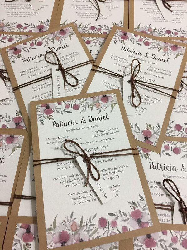 Val Casamenteira Convites Personalizados