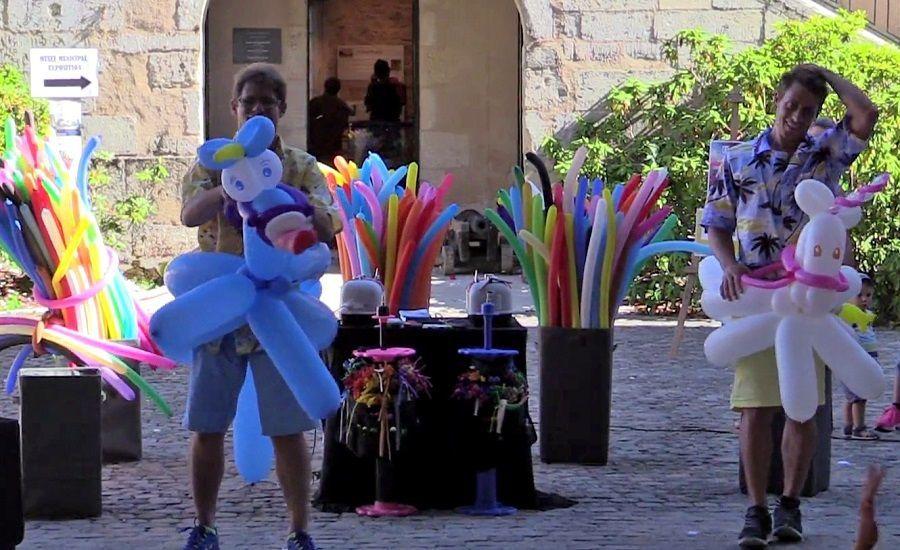 Spectacle de Sculpture de ballons pour les enfants
