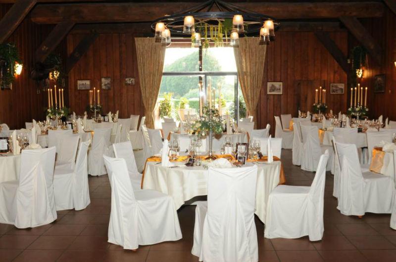 Beispiel: Hochzeitstafel, Foto: Drathenhof.