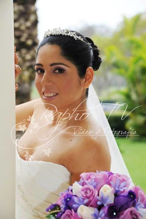 Novia Diana Casamayor.