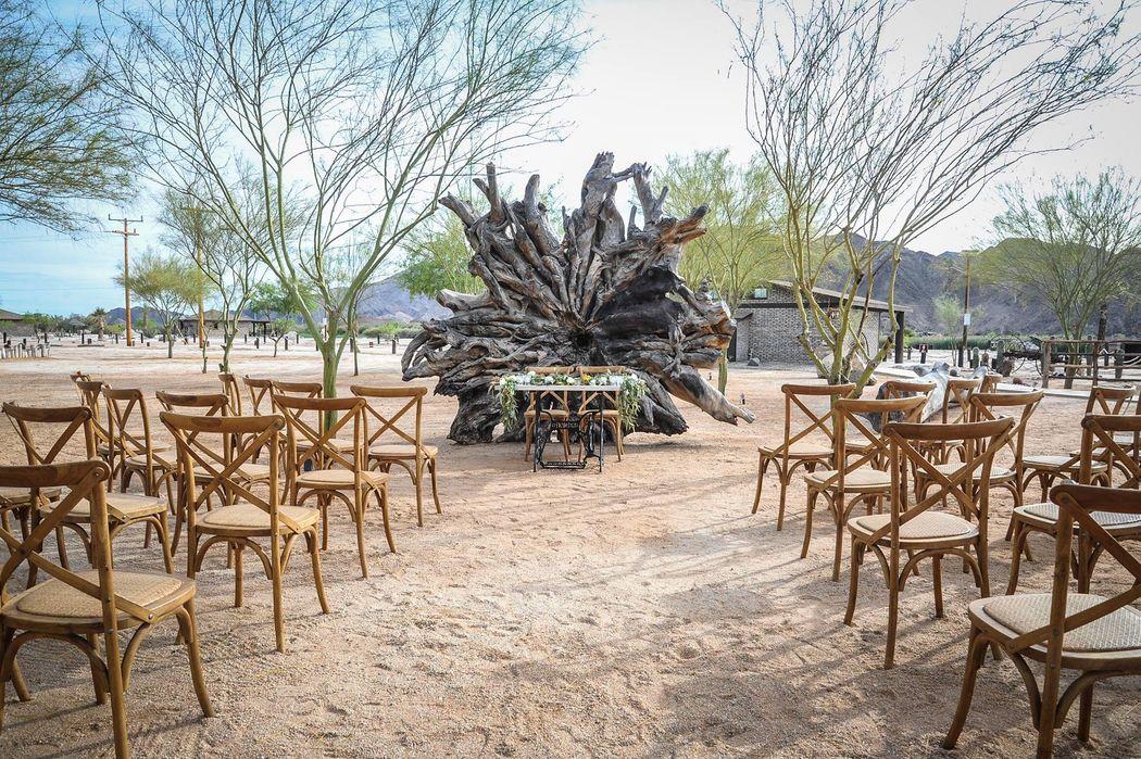 boda celebrada en Rancho Baja Cucapah