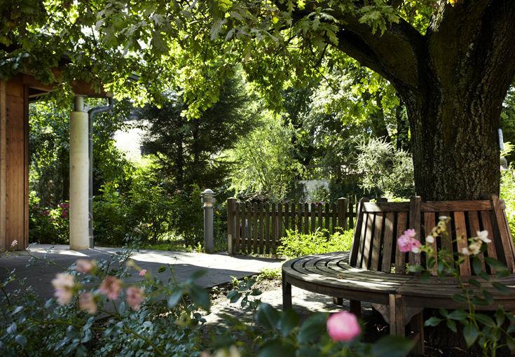 Beispiel: Außenbereich - Garten, Foto: Romantik Hotel Gasthaus Rottner.