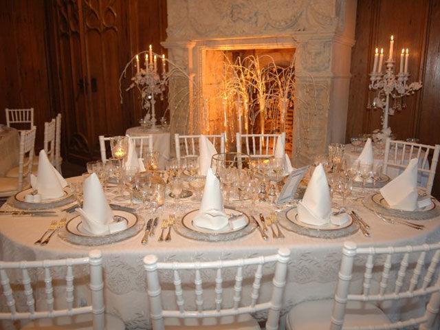 Réception de mariage au Château d'Augerville