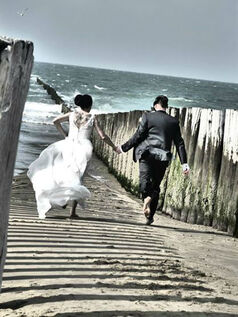 Hochzeit in Flip-Flops am Strand von Domburg!