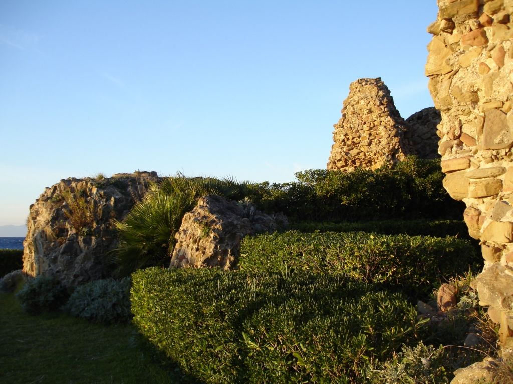 Ancient Ruins in the gardens