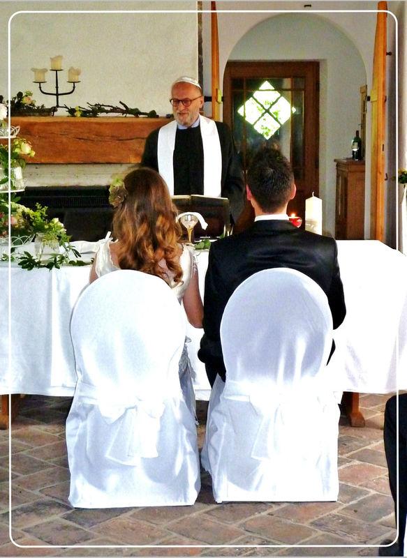 Eine sakrale Trauung. Foto: Zeitlose Zeremonie