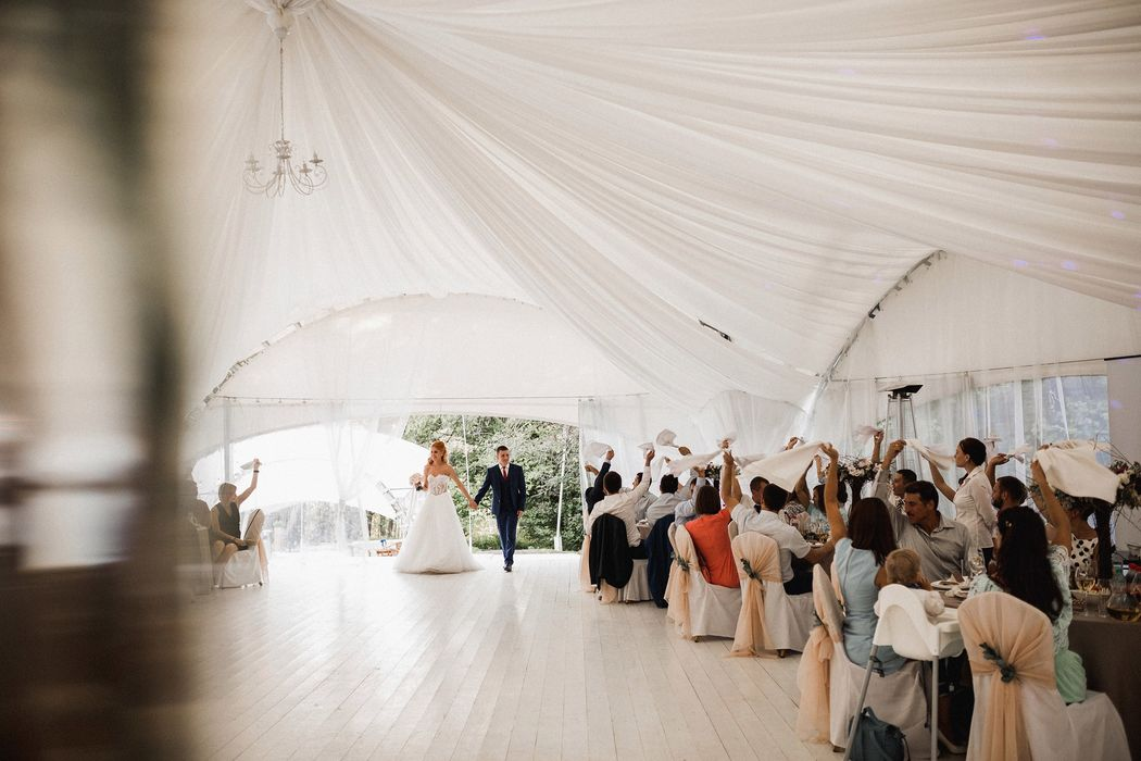 Шатер лесная дача отрадное свадьба