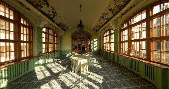 Beispiel: Chinesischer Pavillon, Foto: Schloss Proschwitz.