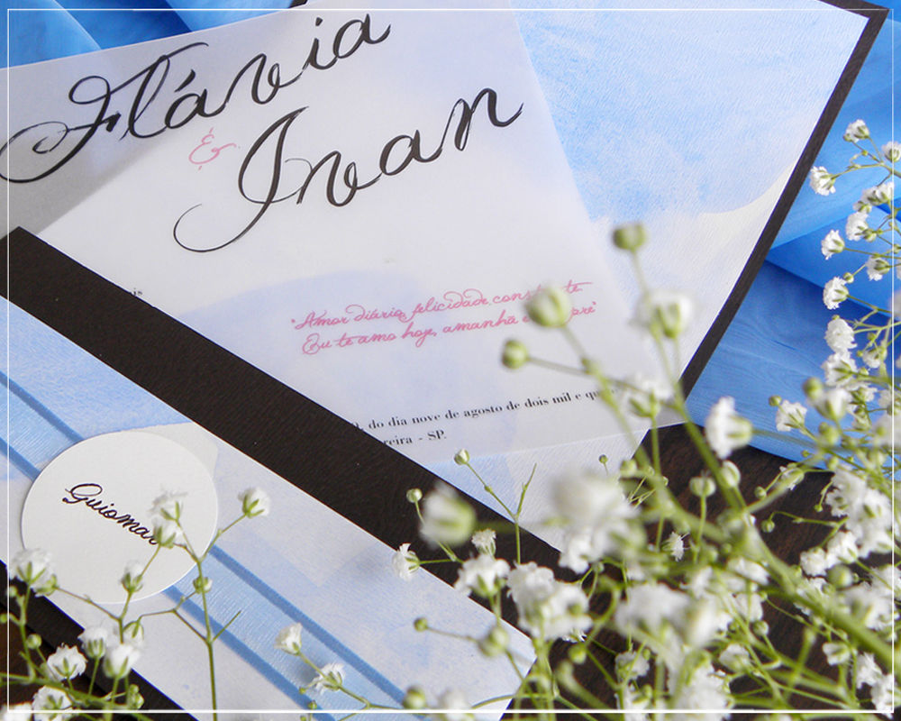 Convite Noiva Ansiosa | Giselle Branco