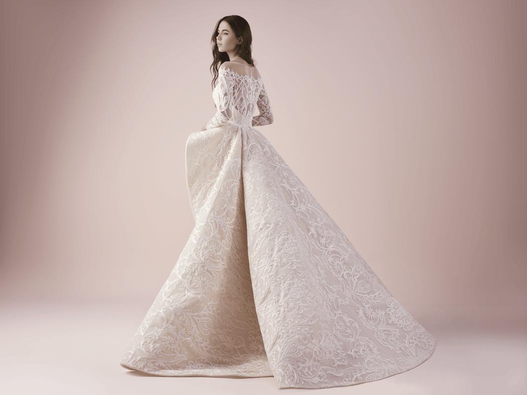 3266 Благородное свадебное платье-трансформер от Saiid  Kobeisy
