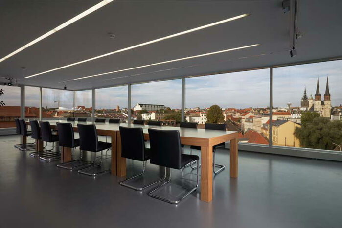 Beispiel: Räumlichkeiten, Foto: Mat's Cafe und Bistro.