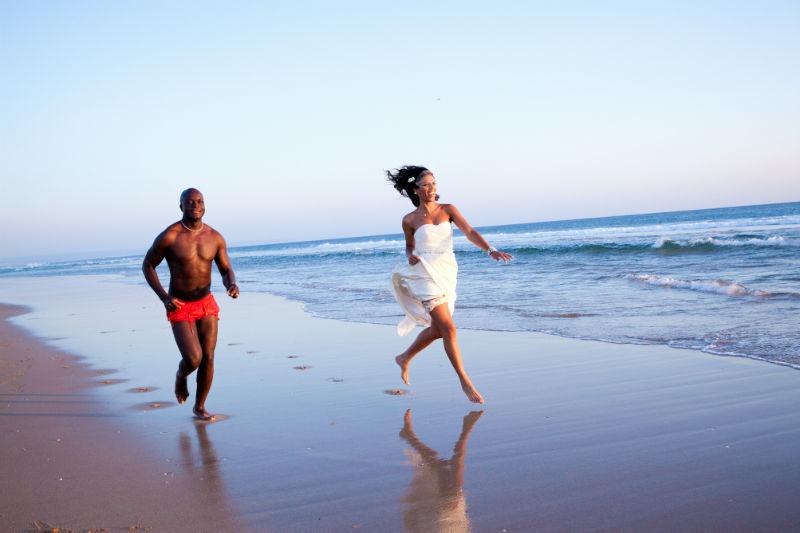 Heiraten am Strand Foto: Nuno Palha