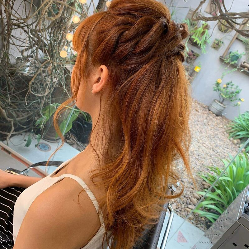 Fabi beleza e penteados