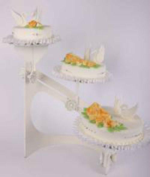 Beispiel: Hochzeitstorte: Schwanenliebe, Foto: Beck Lyner.