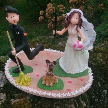 Muñecos de boda personalizados