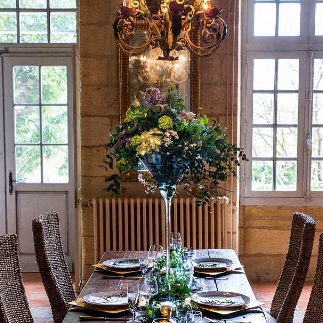 Décoration de table Emmanuelle Fabre