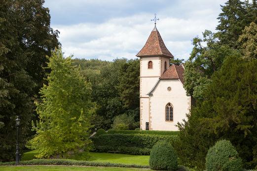 Beispiel: Schlosskapelle, Foto: Schloss Neuhaus.