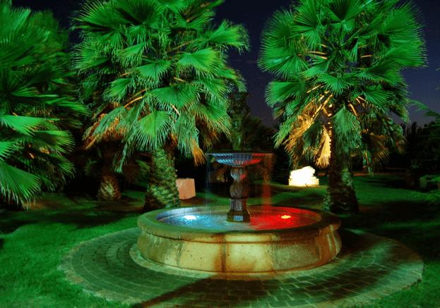 Jardines de Lampa.