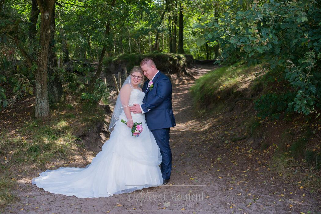 Liefdevol Moment Bruidsfotografie