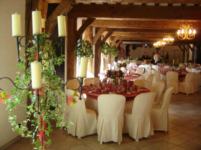 Salle de Réception - Le Prieuré De Saint André