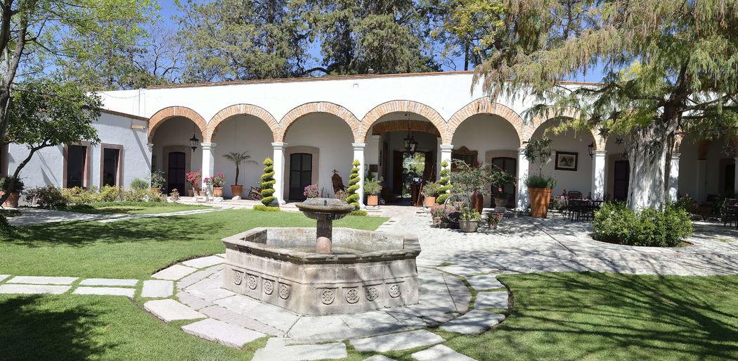 Hacienda San Cristóbal - Jardines