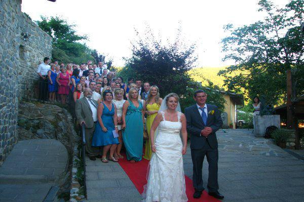 Foto di gruppo sul red carpet!