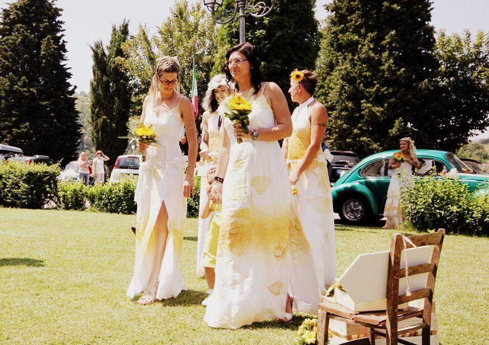 La Sposa Dipinta - abiti bio ecologici