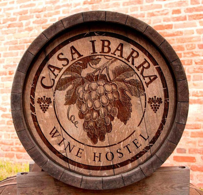 Casa Ibarra Wine Hotel.