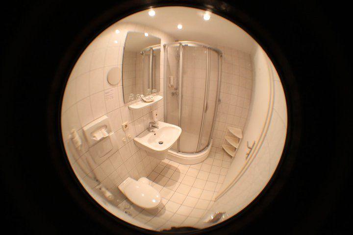 Beispiel: Badezimmer, Foto: AKZENT Hotel Zur Post.
