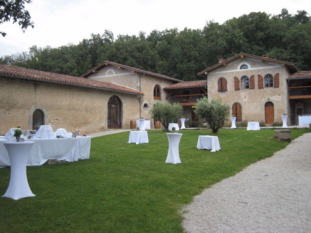 La Ferme du Castelet, espace réservé aux réceptions