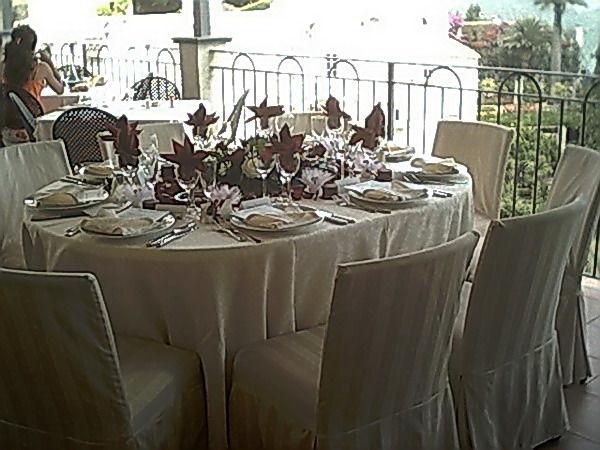 Allestimento tavoli - Hotel Rufolo