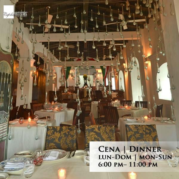 Restaurante Cafe deS Artistes en Puerto Vallarta.