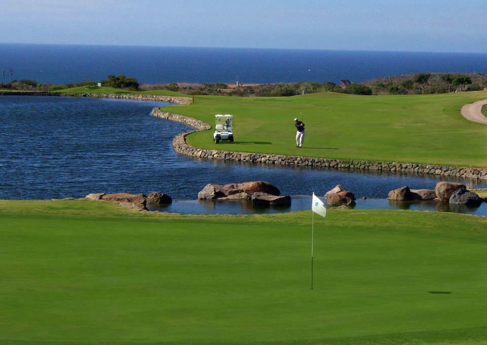 Campo de golf. Bajamar. Ensenada,BC