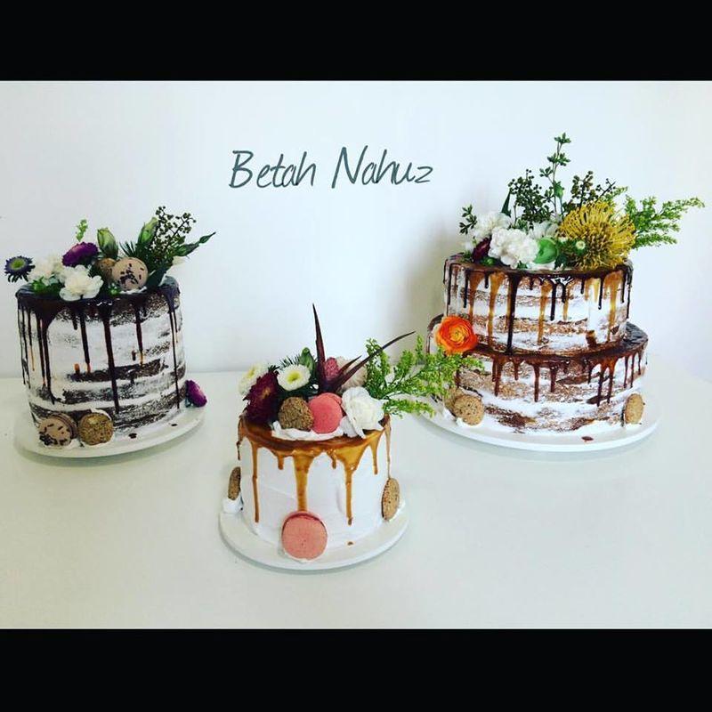 Trio de Drip Cake