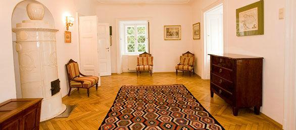 Beispiel: Damen Salon, Foto: Schloss Urschendorf.