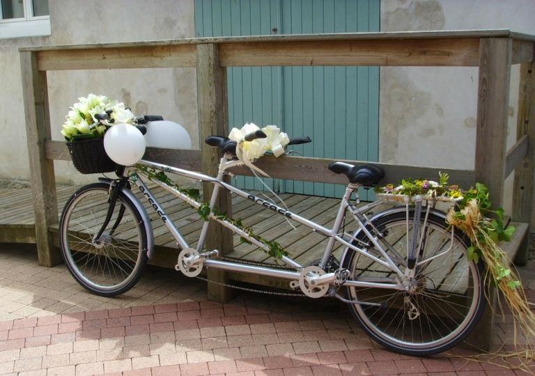 Mariage à vélo sur l'île de ré