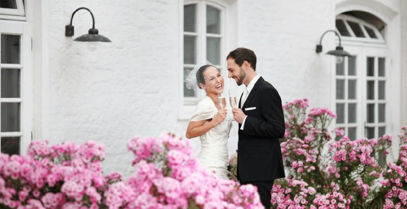 Beispiel: Brautpaar, Foto: Gut Sedlbrunn.