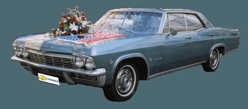 Beispiel: Chevrolet Impala, Foto: FritzCar Oldtimer-Limousinenservice.
