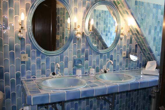 Beispiel: Badezimmer, Foto: Landhaus Diedert.