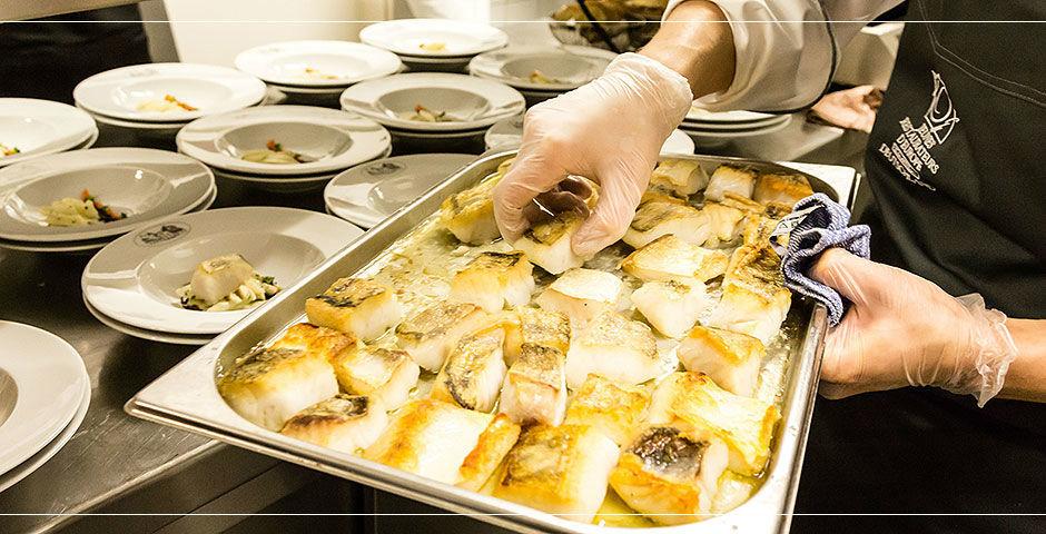 Beispiel: Catering, Foto: Landhaus Hadrys.