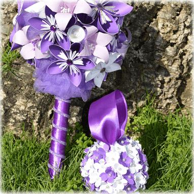 Ramo de novia Sweet Purple
