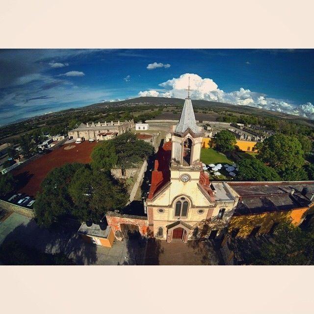 Vista aérea de Hacienda Calichar