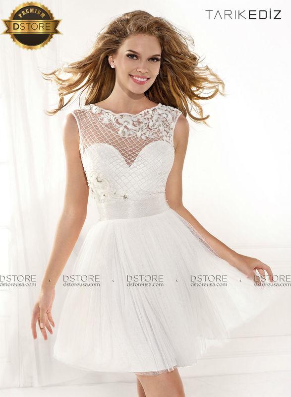 vestido coquetel corto couture