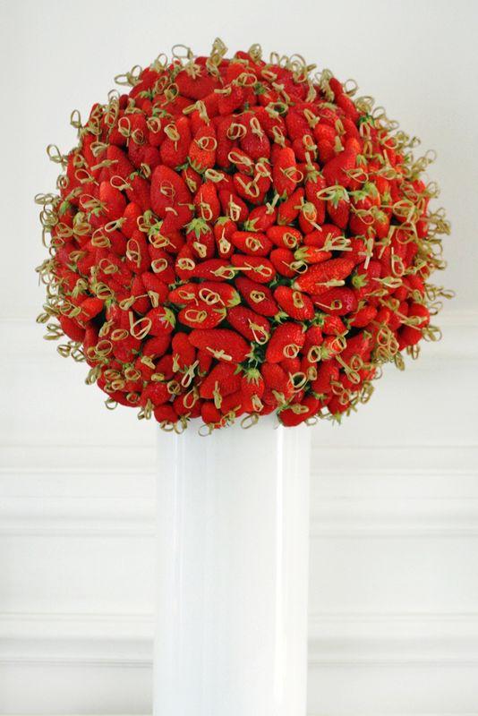 Feed Traiteur - Structure de fruits frais