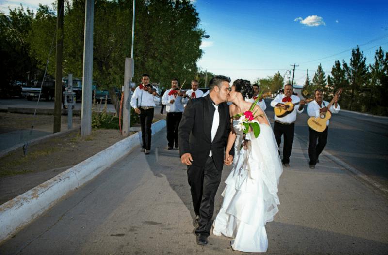 Fotografía de boda en pareja. Foto Alex Mendoza